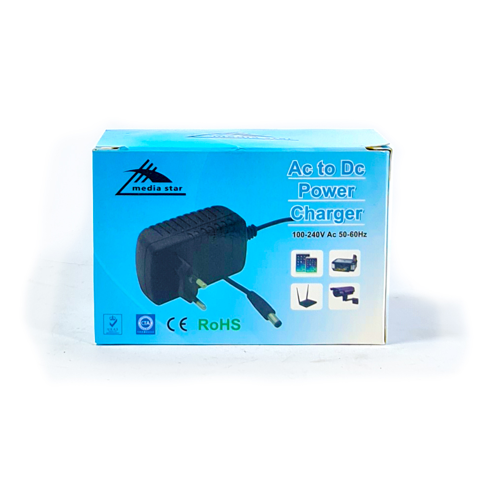 Adaptor 12V 1A for Securty Cameras And network dvices